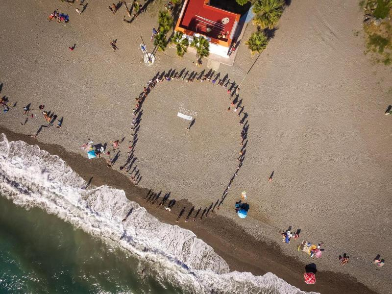 Closing ceremonies Festival of the sea La Herradura
