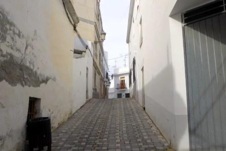 The streets of barrio San Sebastián, Almuñécar