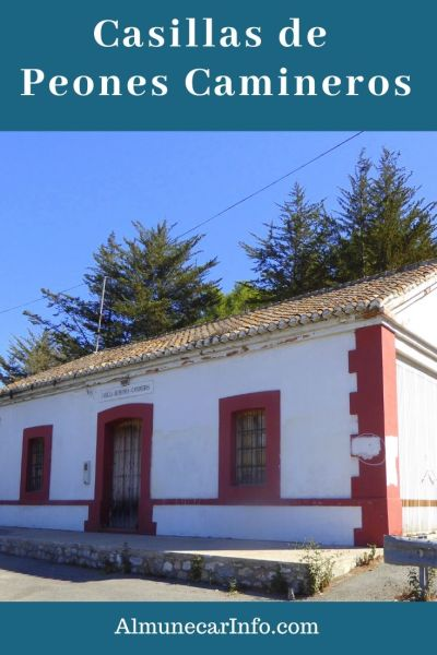 You can pass by interesting historical sites in Spain without even knowing it. The Casillas de Peones Camineros (Road Workers' House) in Spain. Read more on Almunecarinfo.com