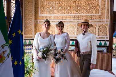 Wedding in Spain - at the Almunecar Palacete Najarra. Read more on Almunecarinfo.com