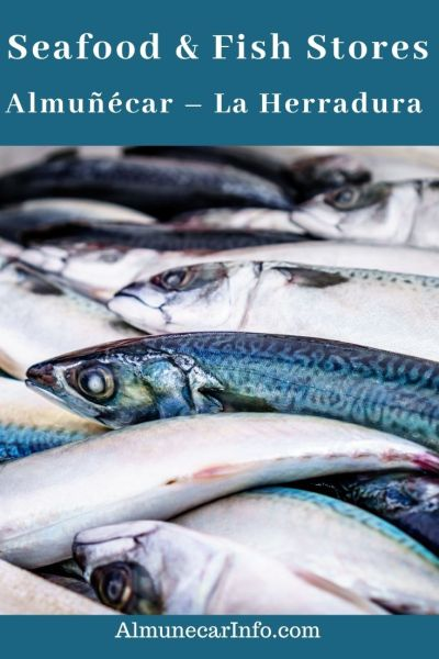 While the new municipal market is being constructed, try these Seafood & fish stores Almuñécar – La Herradura (Pescaderías y Pescados). Read more on Almunecarinfo.com