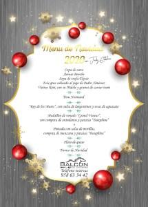 balcon de cotobro christmas menu Almunecarinfo.com