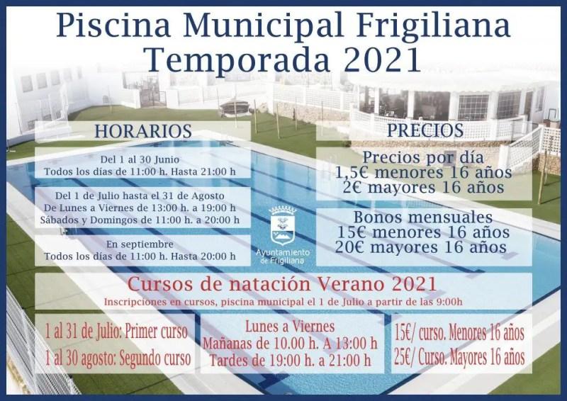 Piscina municipal de Frigiliana