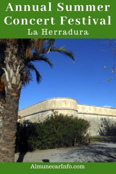 Annual La Herradura Summer Concert Festival. ECome enjoy the La Herradura Summer Concerts! Each year we are all fortunate enough to have the opportunity to enjoy music in the castle! We will share with you all of the details about the location, artists, and where to get your tickets.. Read more on Almunecarinfo.com