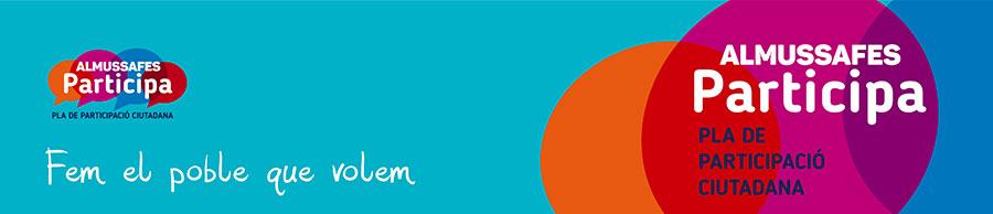 Logo pla de participació ciutadana
