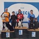 Esportiu Agility Almussafes recull huit medalles a Alquerías del Niño Perdido