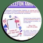 L'Ajuntament d'Almussafes i el Voluntariat UDP posen en marxa un servei telefònic per a fer companyi...