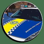 La Policia Local d'Almussafes incorpora a la seua flota un cotxe elèctric amb etiqueta zero emission...
