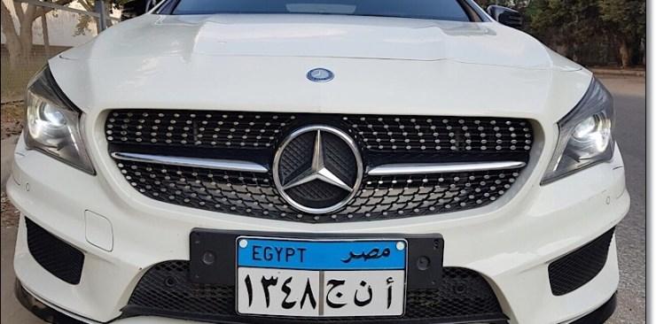 ايجار مرسيدس CLA في مصر