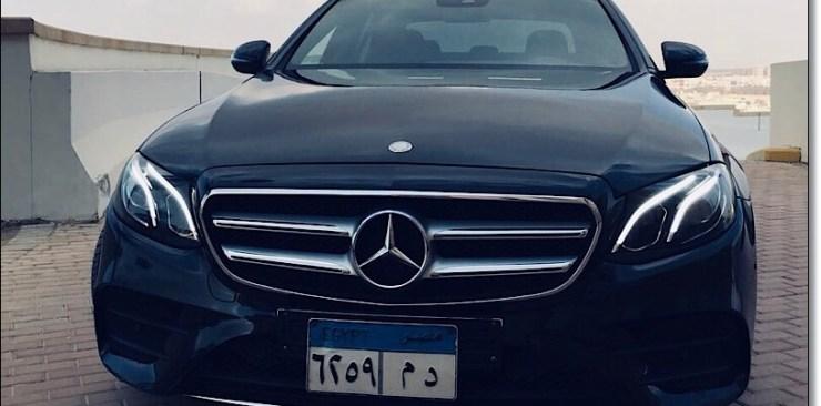 تأجير سيارة مرسيدس ميني أس في مصر