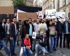 مظاهرات للمصريين في واشنطن ضد ضم الجزيرتين