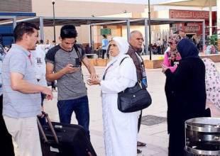 """التضامن"""": 8100 حاج يصلون الأراضي السعودية"""