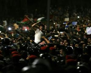 الإحتجاجات في الأردن تدخل يومها السادس