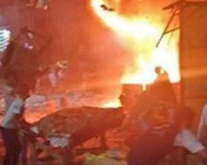شاهد بالفيديو.. خسائر مهولة وتفاصل حريق الموسكي