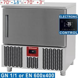 FAST BLAST FREEZER 5x GN 1/1or600x400 12-8Kg