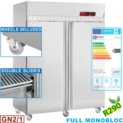 VENTILATED REFRIGERATOR 1400L. GN2/1