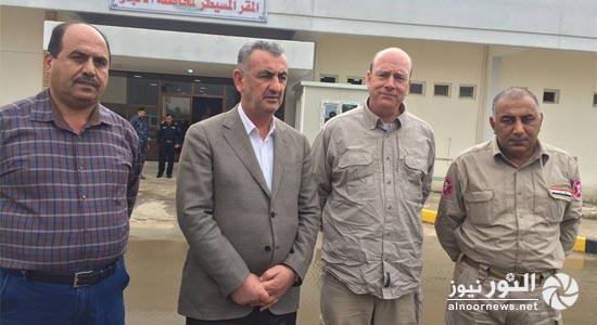 محافظ الانبار: الخبراء الدوليين وصلوا الرمادي لإزالة المخلفات الحربية والعبوات