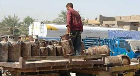 في ضل حكم داعش عودة ازمة غاز الطبخ الى الموصل وسعر الاسطوانة يجاوز 50 الف دينار