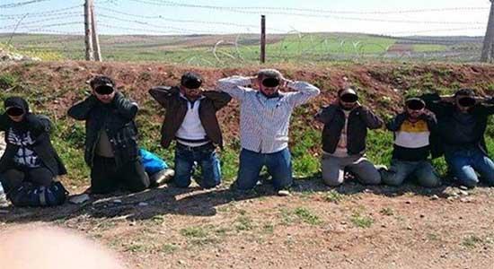 تركيا.. ضبط 10 عناصر من داعش بينهم انتحاري على الحدود السورية