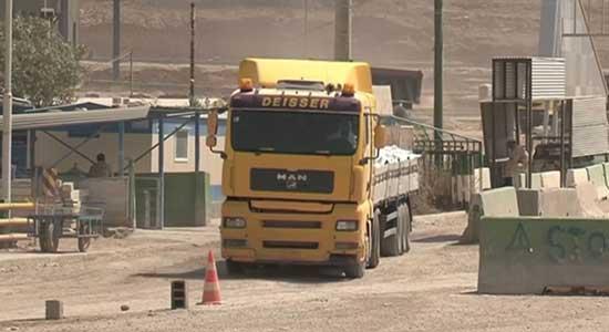ايران تعلن استئناف نشاط معبر جذابة الحدودي مع العراق