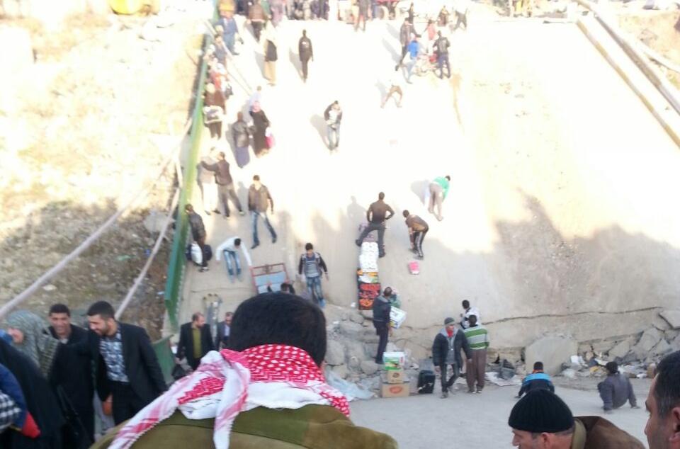 450 ﻻجي من اهالي ابموصل يصلون مخيم الهول السوري