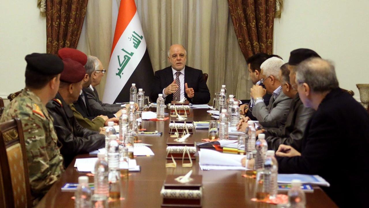 العبادي يوجه عملياتا بغداد والمشتركة بالتفتيش عن الصواريخ والهاونات ويمهل حائزيها 10 ايام لتسليمها