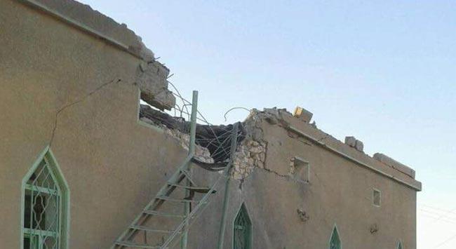 بالصور.. قصف جوي يستهدف مسجد في قضاء القائم