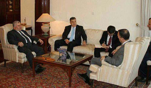 الحزب الإسلامي يبحث مع السفير التركي العلاقات الثنائية والتطورات السياسية