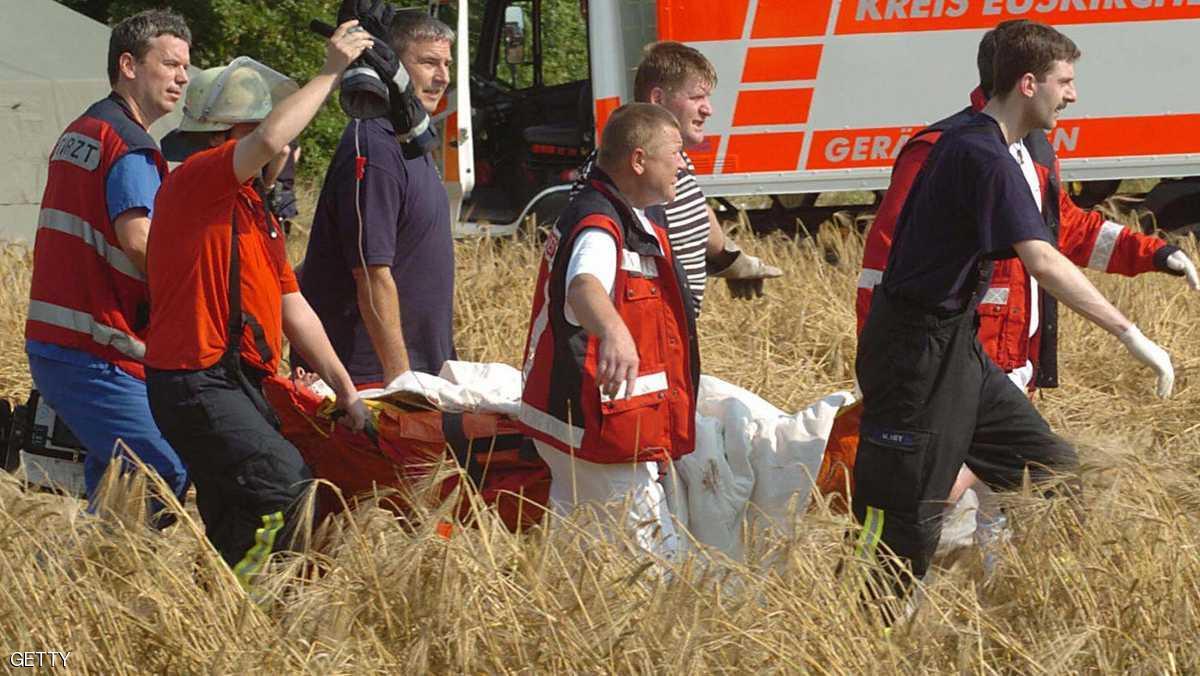 سيارة سباق تقتل مشاهديها في الدنمارك