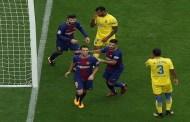 ميسي يقود برشلونة لسحق لاس بالماس وتصدر ترتيب الدوري الإسباني