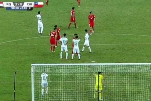 منتخب العراق للناشئين يفوز 3-0 على تشيلي