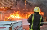 20 ألف حريق خلال العام الحالي.. ومطالبات بإخراج المخازن التجارية إلى أطراف بغداد