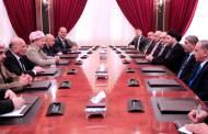 وفد الاصلاح والاعمار برئاسة الحكيم يبحث مع الديمقراطي الكردستاتي تشكيل الحكومة