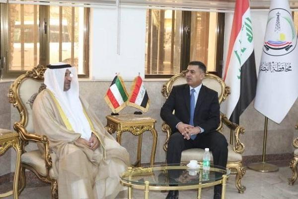 البصرة تستقبل القنصل الكويتي الجديد