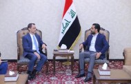 الحلبوسي يلتقي القائم بأعمال سفارة واشنطن في بغداد