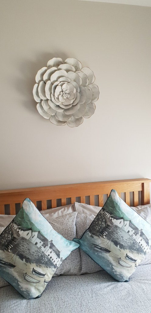 Metal Floral wall art