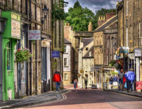 Historic Alnwick Town Centre