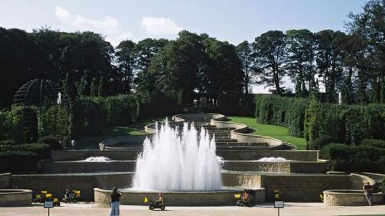 Water Fountain at Alnwick Castle Garden