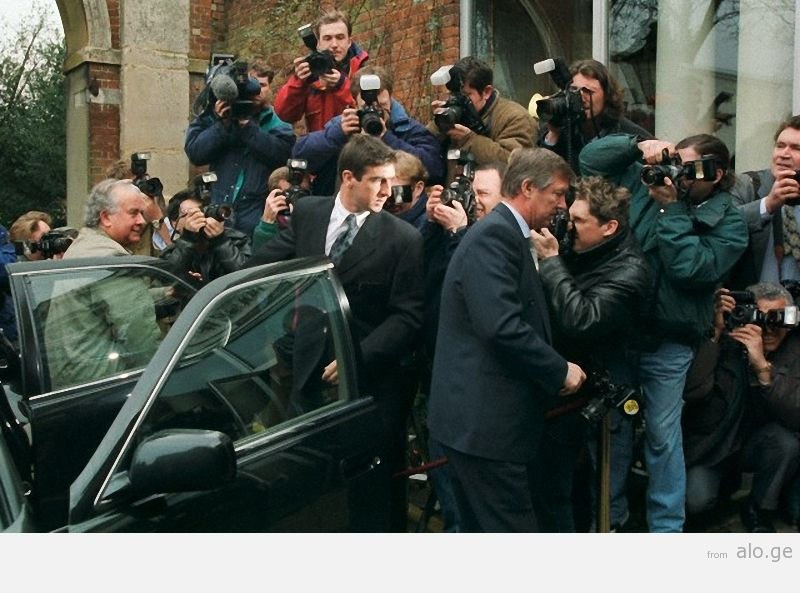 24/02/1995.  Football hearing, Sopwell House Hotel, St Albans, Britain.
