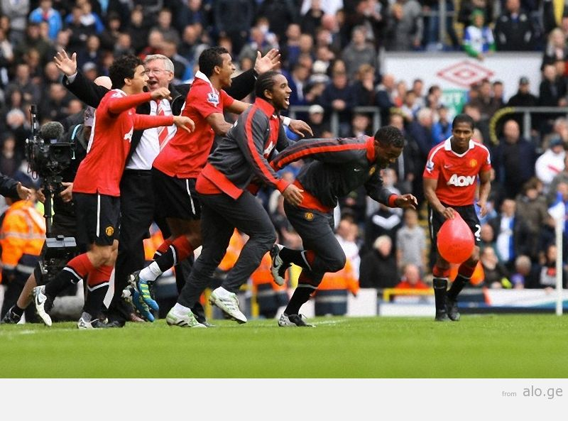 Soccer - Barclays Premier League - Blackburn Rovers vs. Manchester United