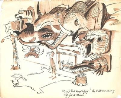 Ted Parmelee gag cartoons 18
