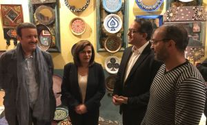 بالصور .. رئيس الهيئة العامة للسياحة والتراث بالمملكة السعودية يزور متحف الفن الإسلامي