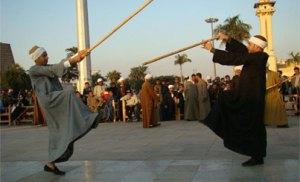 النمنم وبدر يفتتحان الدورة الثامنة من مهرجان التحطيب بالأقصر