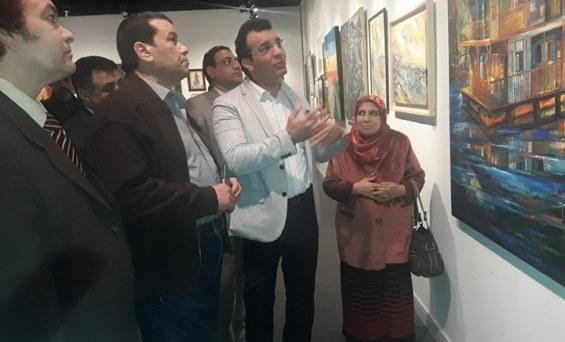 """افتتاح معرض """"فن وإبداع"""" بقاعة آدم حنين بالهناجر"""