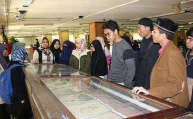 وفد من اتحاد طلاب أندونيسيا فى مصر