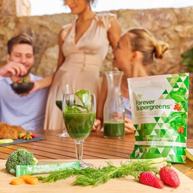 forever supergreens, ingredients forever supergreens, utilisation forever living supergreens, acheter forever supergreens