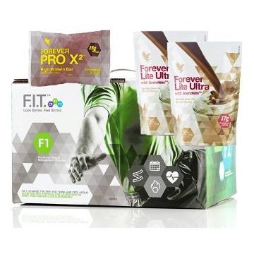 FOREVER F.I.T. 1 z Forever Lite Ultra Chocolate i ProX2 czekolada