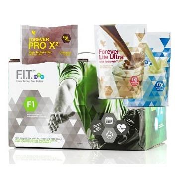 FOREVER F.I.T. 1 z Lite Ultra Vanilla/Chocolate i ProX2 czekolada