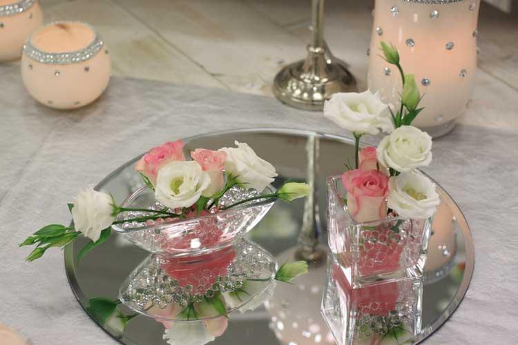 Russir La Dcoration Florale Des Tables ALOE FLEURS