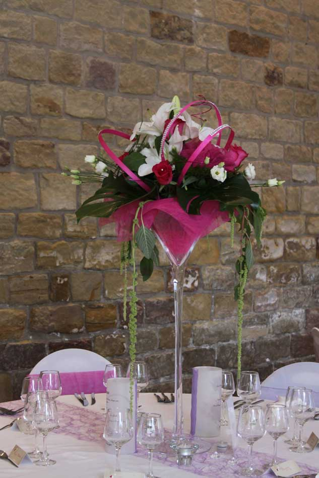 Composition De Fleurs Pour Table De Mariage Awesome